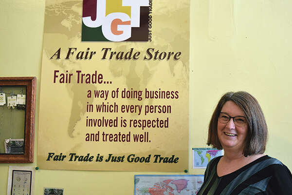 Rhonda Kircher owns Just Good Trade in Jacksonville.