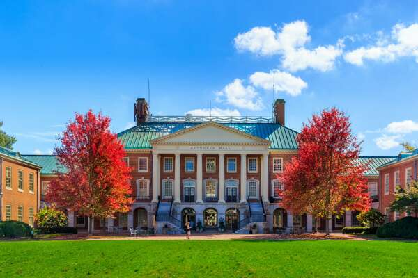 """50 best colleges on the East Coast Considering the United States was birthed from a revolution waged along the Eastern Seaboard, it makes sense that the roots of the country's higher education system were planted there as well. Harvard University came first, founded in 1636, predating the Declaration of Independence by 140 years. The nation's oldest institution of higher learning was followed by a slew of state and public universities throughout the 13 colonies. The East Coast remains home to a number of private and public colleges that consistently top """"best of"""" lists, highlighted by the prestigious Ivy League eight. Stacker combed through Niche's 2021 Best Colleges in America list (current as of February 2021) in order to discover which 50 East Coast schools, old and new, are the cream of the crop. Nicheranks colleges by analyzing student and alumni reviews, as well as data on academic, admissions, and student life culled from the U.S. Department of Education. Stacker filtered its list to include schools in the District of Columbia and states that border the Atlantic Ocean within 100 miles of their eastern borders: Maine, New Hampshire, Vermont, Massachusetts, Rhode Island, Connecticut, New Jersey, New York, Pennsylvania, Delaware, Maryland, Virginia, North Carolina, South Carolina, Georgia, and Florida. Click through the list to find the best schools on the East Coast, and if any of them could beat out the Ivies for the top spot. You may also like: Best community college in every state"""