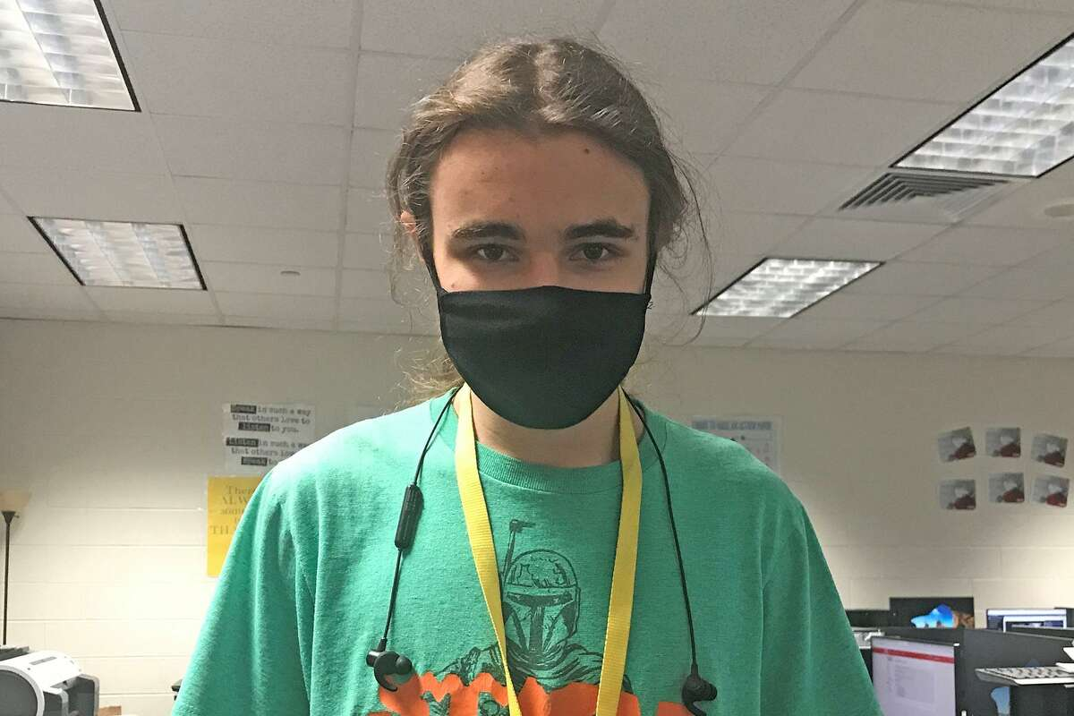 Cy Woods Junior Raidan Bailey took home first place in the Remote News/Feature category in the Student Television Network Fall Nationals competition for his piece about the reopening process for the West Houston Church of Christ during the pandemic.