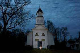The former Methodist church in Linden, N.C., is now the worship and meeting home for a controversial whites-only group, the Asatru Folk Assembly.