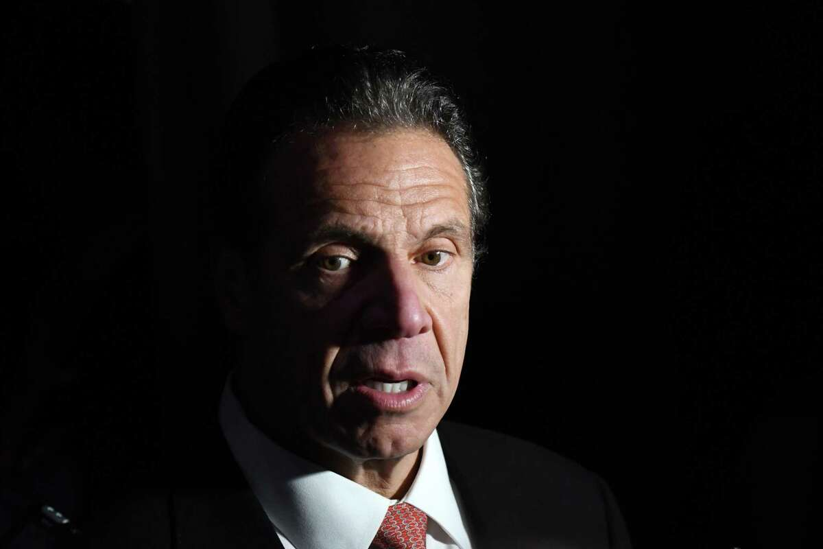 Gov. Andrew Cuomo said Sunday, March 7, 2021 that he would not bow to pressure to resign from other state leaders following claims of inappropriate behavior and sexual harrassment.