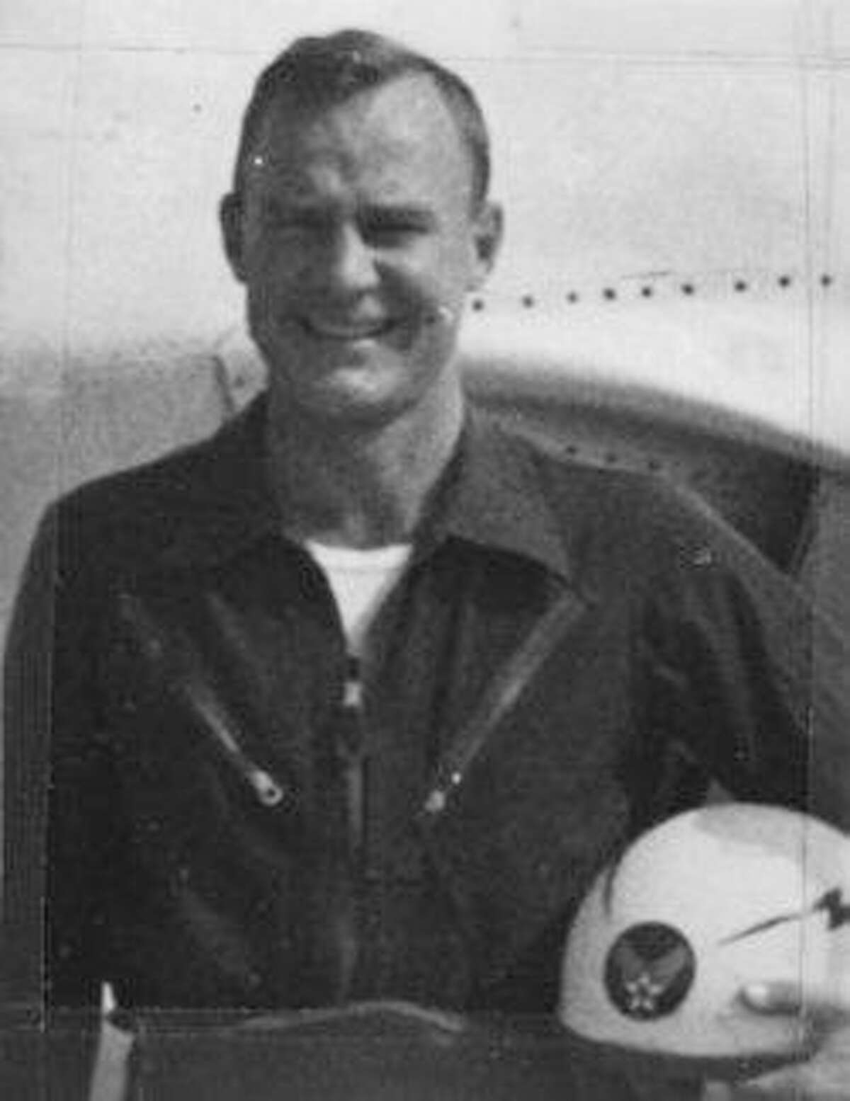 Capt. Joseph N. Eberle was just 27 but already an experienced pilot who died in 1953 in an air crash at Randolph AFB. Eberle was declared a hero because he opted to stay with his disabled jet to steer it away from family base housing.