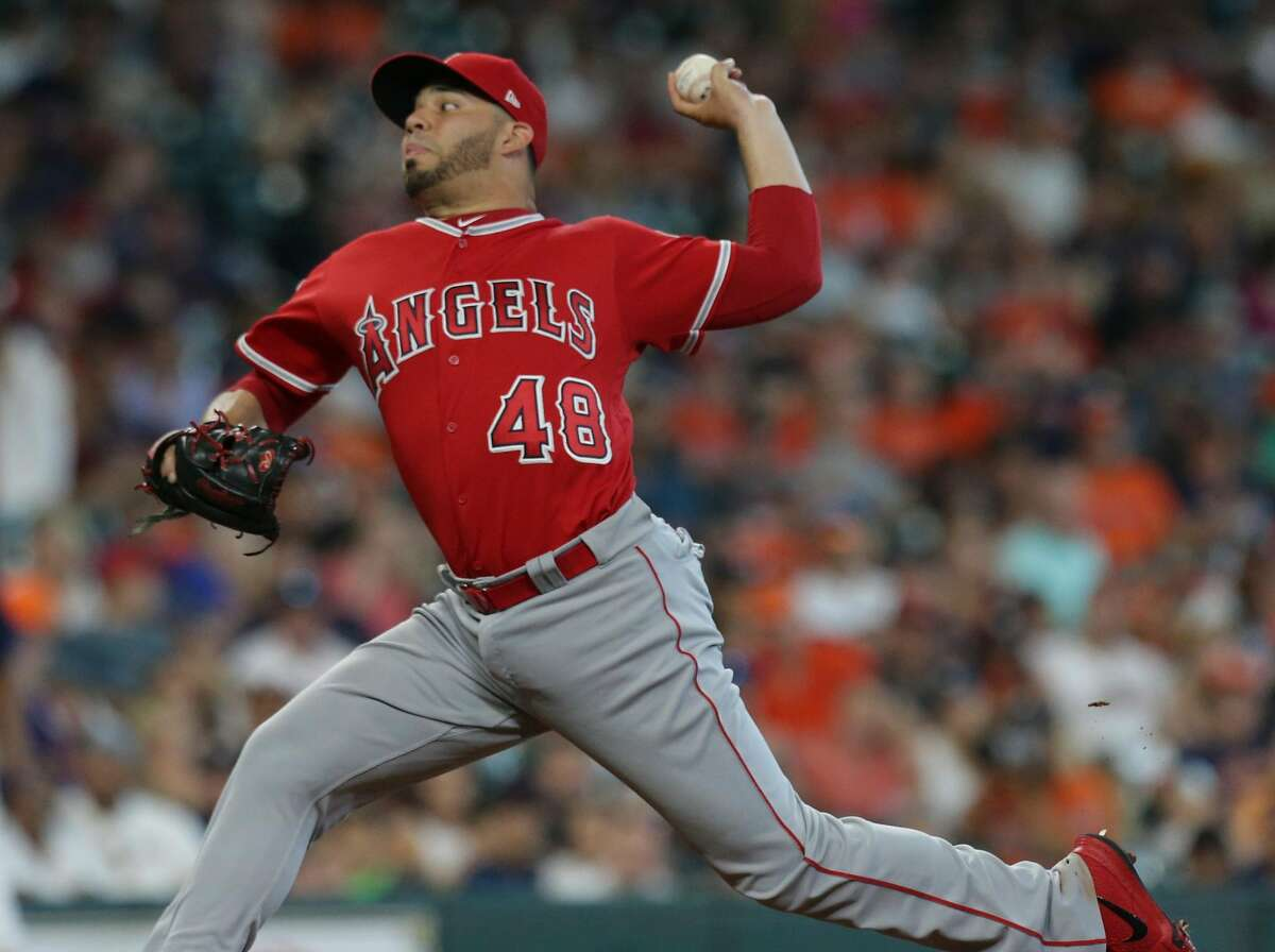 Jose Alvarez made 270 relief appearances for the Angels before pitching for the Phillies. He has a 3.59 career ERA.