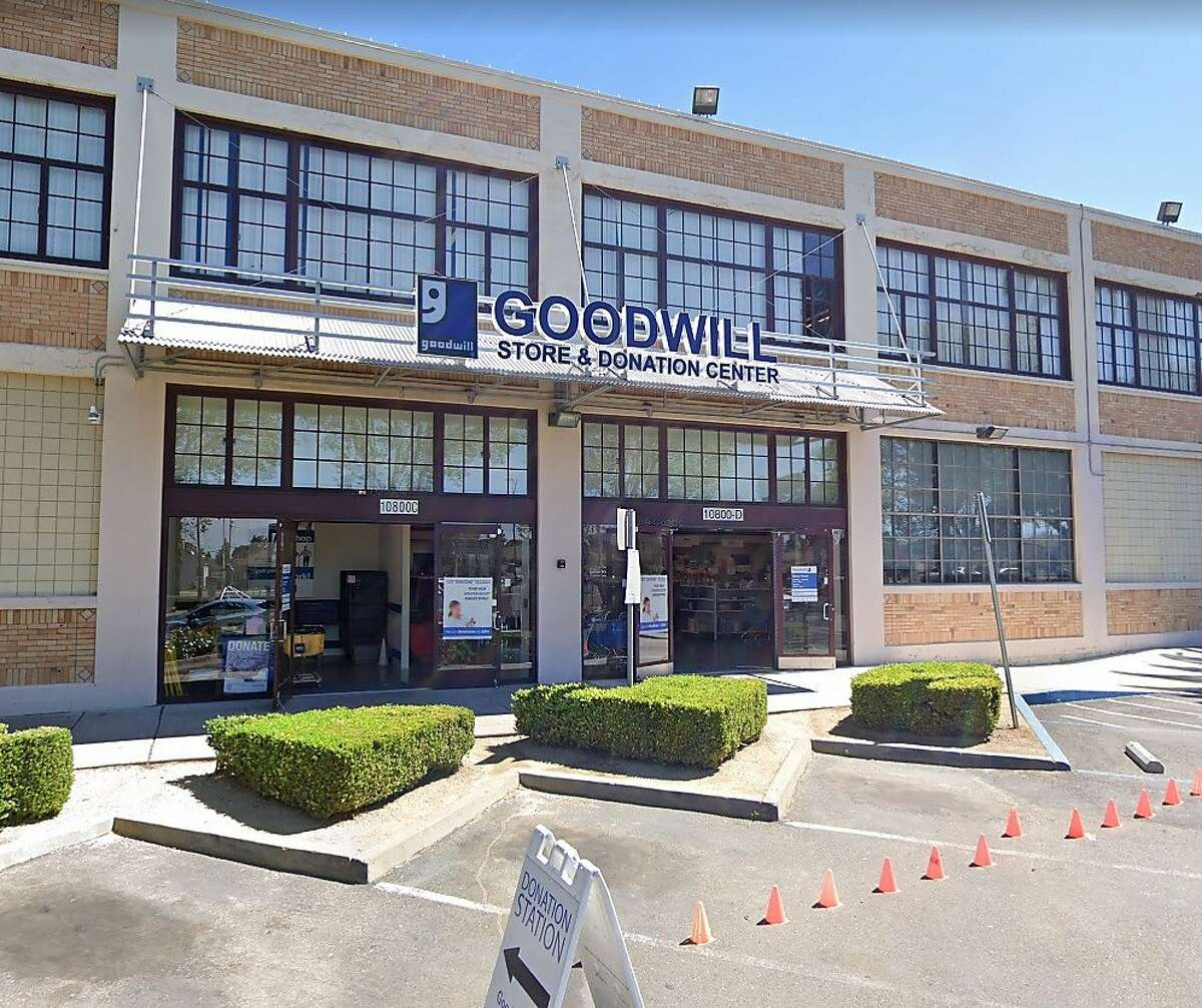 Goodwill is closing eight East Bay locations, including its 10800 International Blvd. store in Oakland.