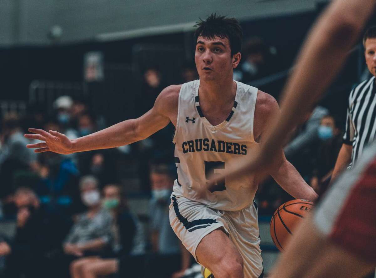 The Greater Houston Basketball Committee announced 11 finalists for the 2021 Guy V. Lewis Award in a press release Thursday, March 4. Among the finalists was Concordia Lutheran senior small forward RJ Keene.