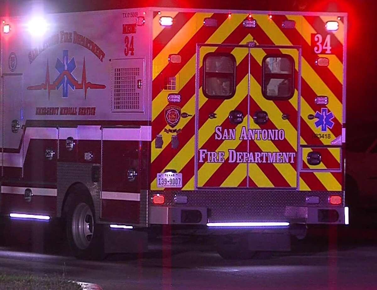 San Antonio police said the incident happened on Interstate 35 near the Northeast Loop 410 exit ramp.
