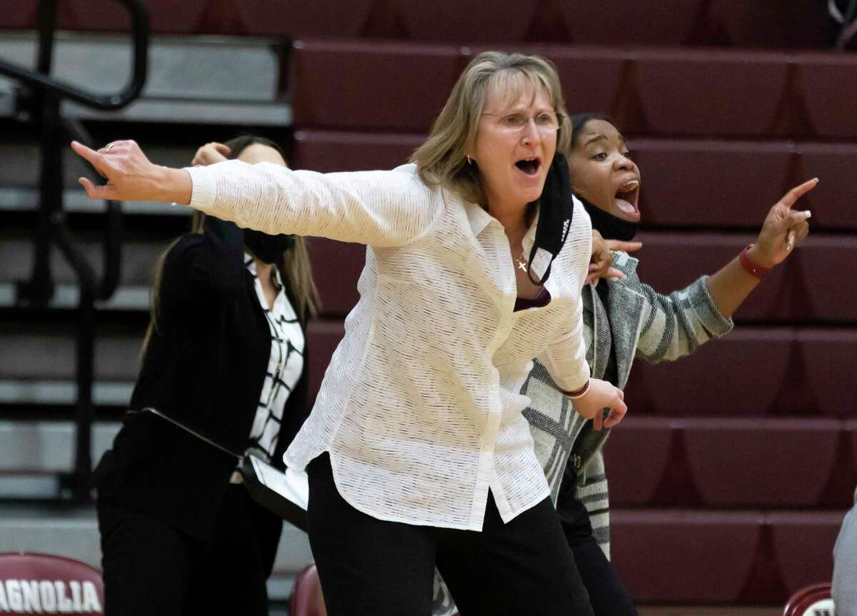 Magnolia head coach Erika Ritter was named the District 19-5A Coach of the Year.