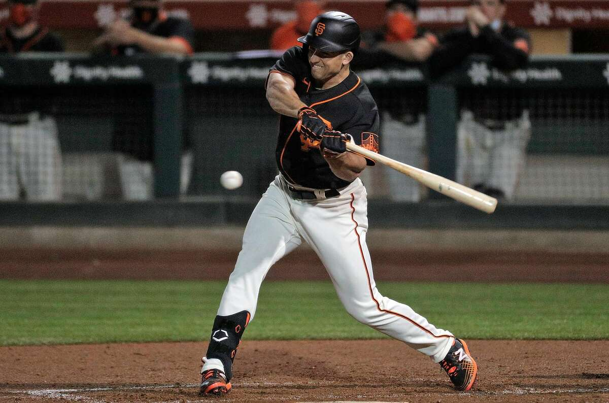 Jason Vosler's hitting prowess stands out on a Giants team boasting a lot of versatile, offensive-minded utility players.