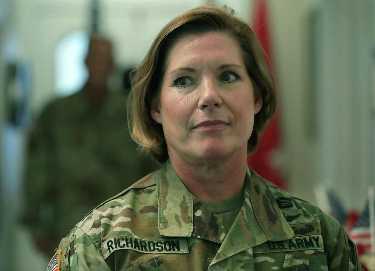 Lt. Gen. Laura Richardson, who leads U.S. Army North in San Antonio, has been recommended for promotion.