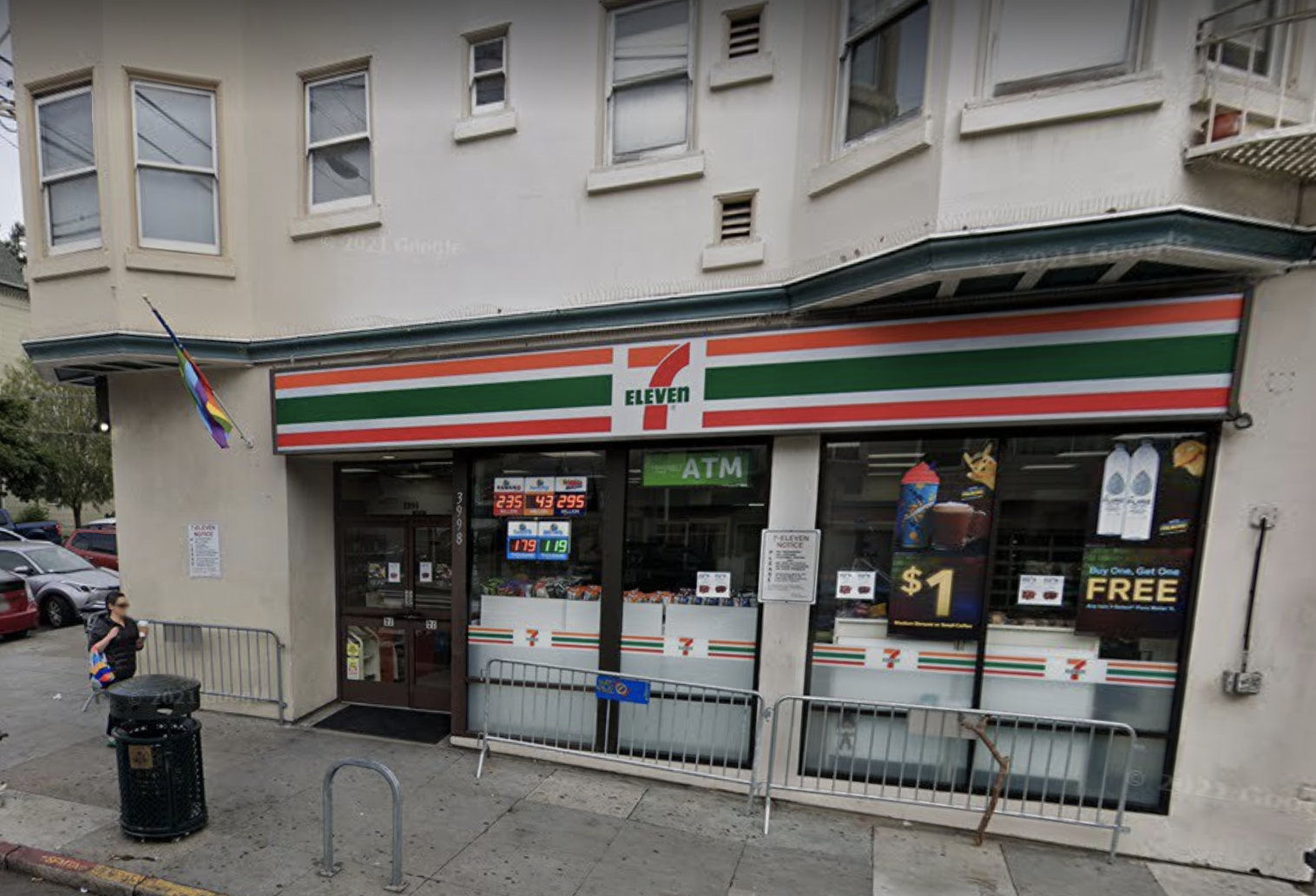 A 7-Eleven in San Francisco's Castro District has permanently closed