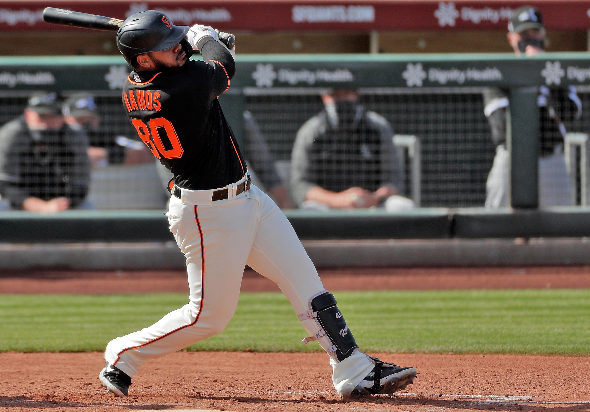Giants' spring training observations: Have a day, Heliot Ramos