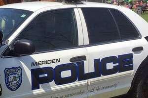 A file photo of a Meriden, Conn., police cruiser.