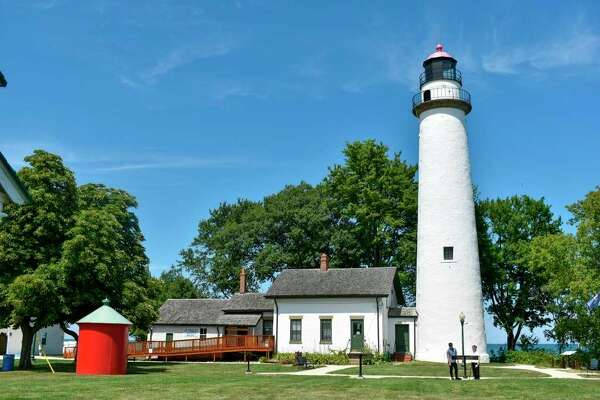 The Shook's legacy lives on at the Pointe Aux Barques Lighthouse through the sharing of history and the Michigan Historical Marker dedicated to the couple. (Paige Withey/Huron Daily Tribune)