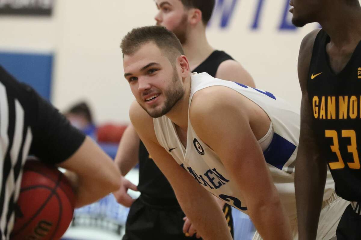 Guilderland High graduate Andrew Sischo will lead Daemen College into the NCAA Division II basketball regional March 13-16 at the Albany Capital Center. (Daemen athletics)
