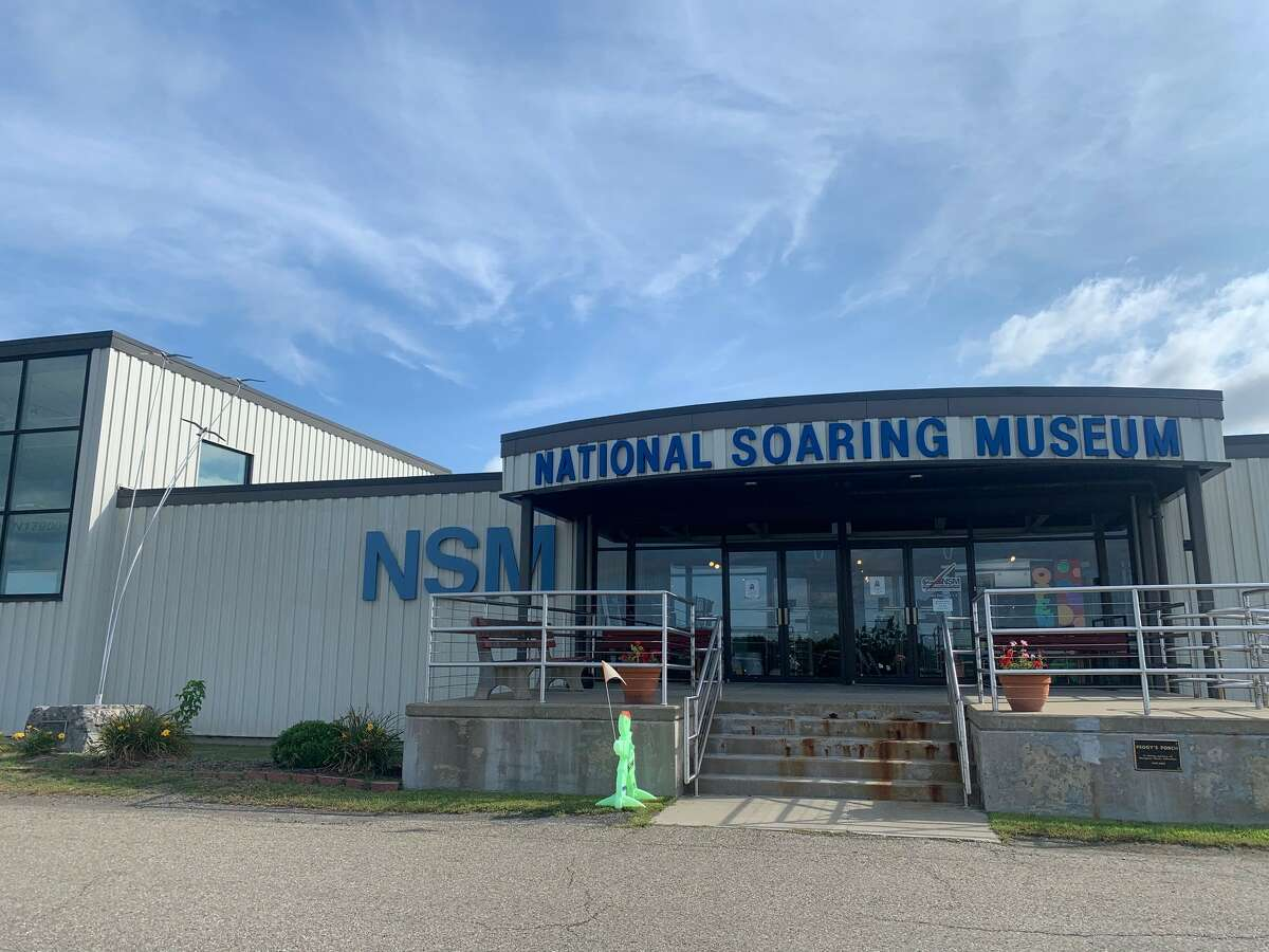 The National Soaring Museum, dedicated to soaring planes, in Elmira.