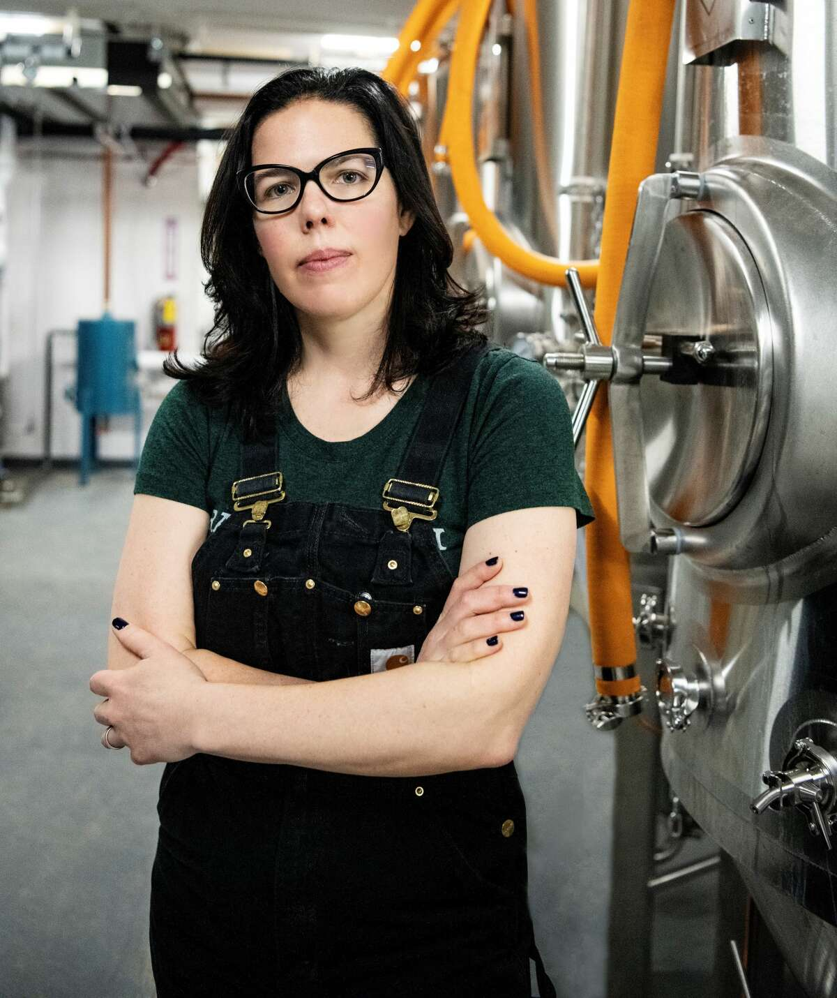 Only an estimated 4% of craft breweries have a female head brewer. Roe Jan Brewing Co. in Hillsdale, whose brewing operations are led by Hayley Shine,is one of them.