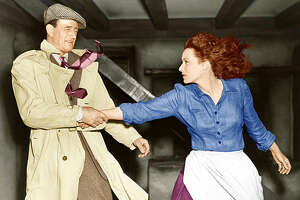 """John Wayne and Maureen O'Hara's relationship in """"The Quiet Man"""" would not pass muster in today's Time's Up era."""