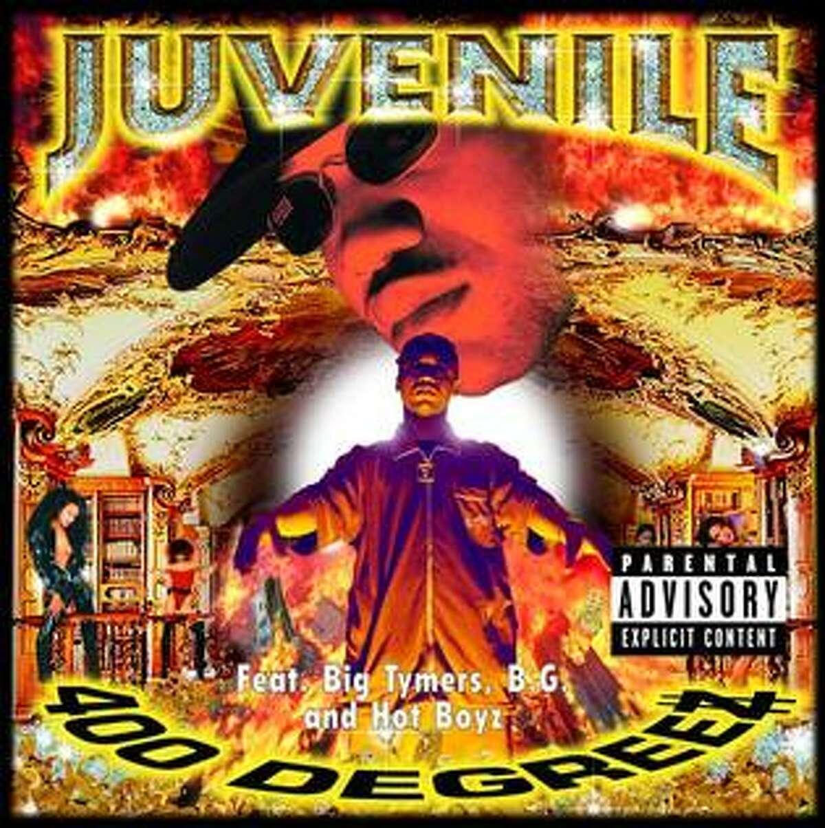 """Juvenile's """"400 Degreez"""" album, released Nov. 3, 1998."""