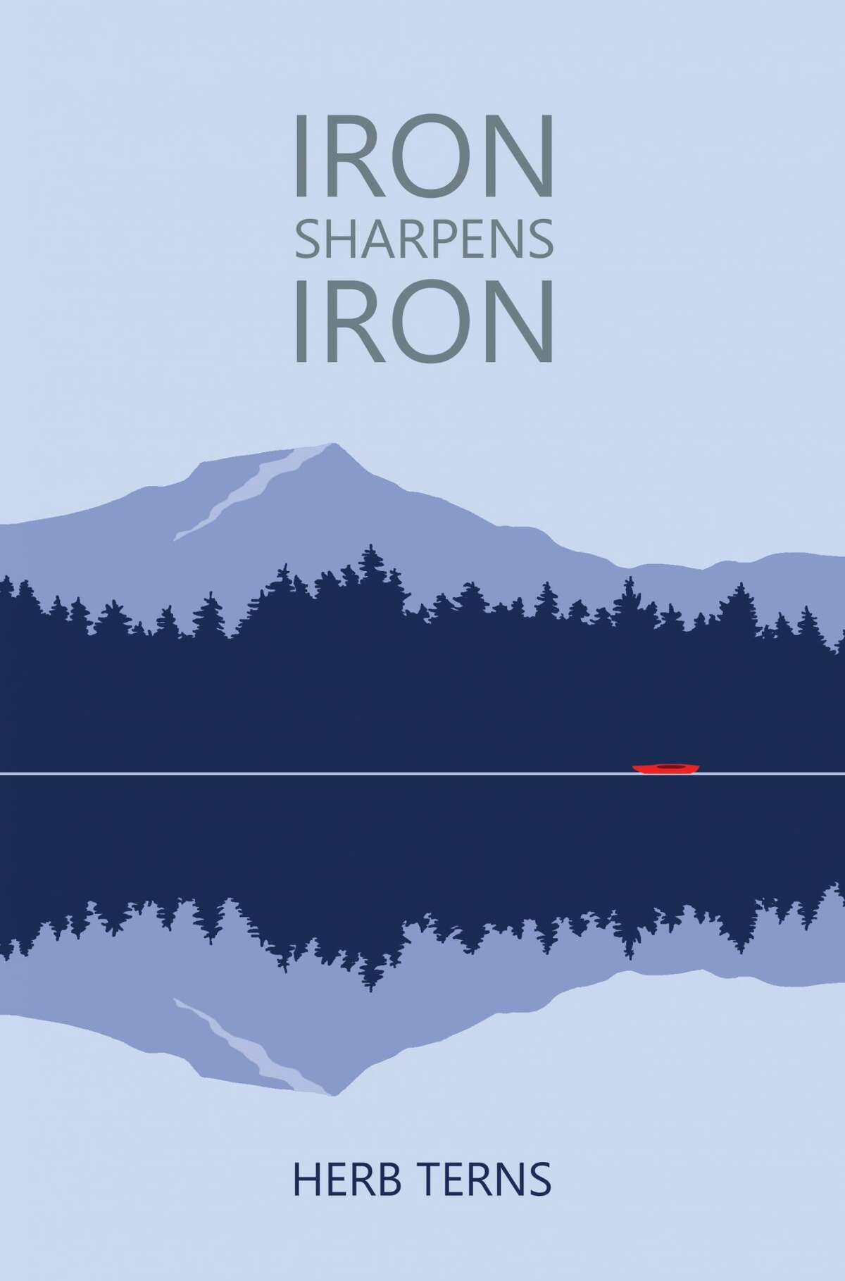"""Times Union outdoor columnist and IT employee Herb Terns recently came out with his first novel, """"Iron Sharpens Iron."""""""