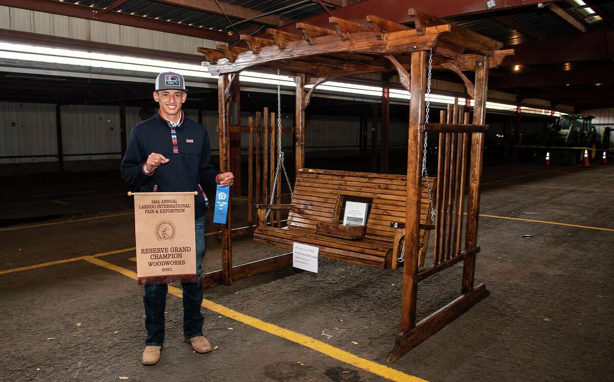 United South Johnny Leal's woodworking project was declared the 58th Annual Laredo International Fair & Exposition's Reserve Grand Champion in its respective division.