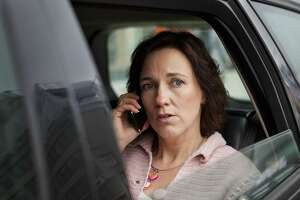 A woman misses her daily chats from her car.