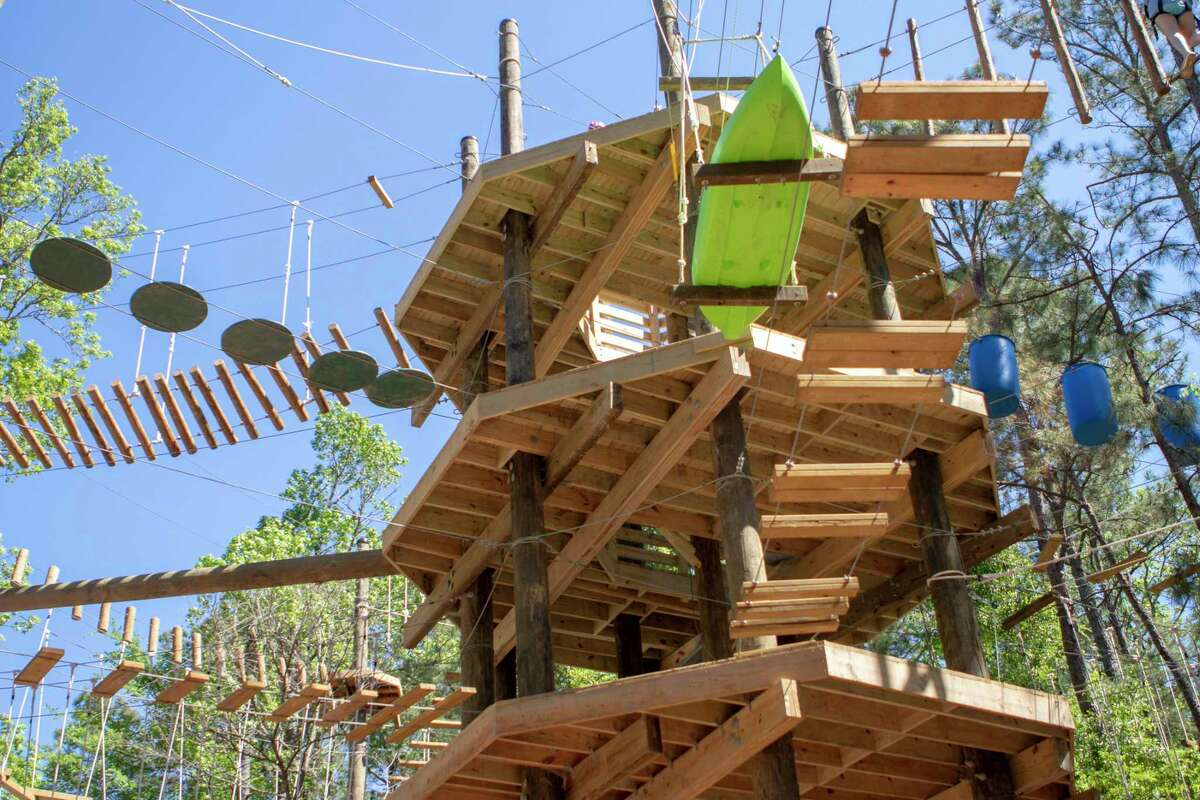 The cost to use the challenging platforms, rope bridges and many other obstacles at Texas TreeVentures in The Woodlands are slated to increase by $5 in 2021 under a series of changes to parks and recreation use fees approved on Friday, March 5, by the township Board of Directors.