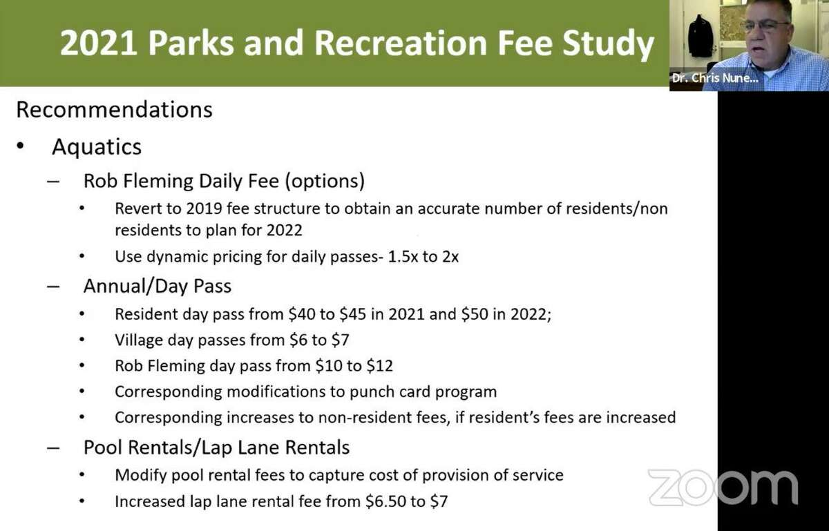 The Woodlands Township approved a series of use fee increases on March 5 for a wide range of township amenities and parks and recreation facilities.