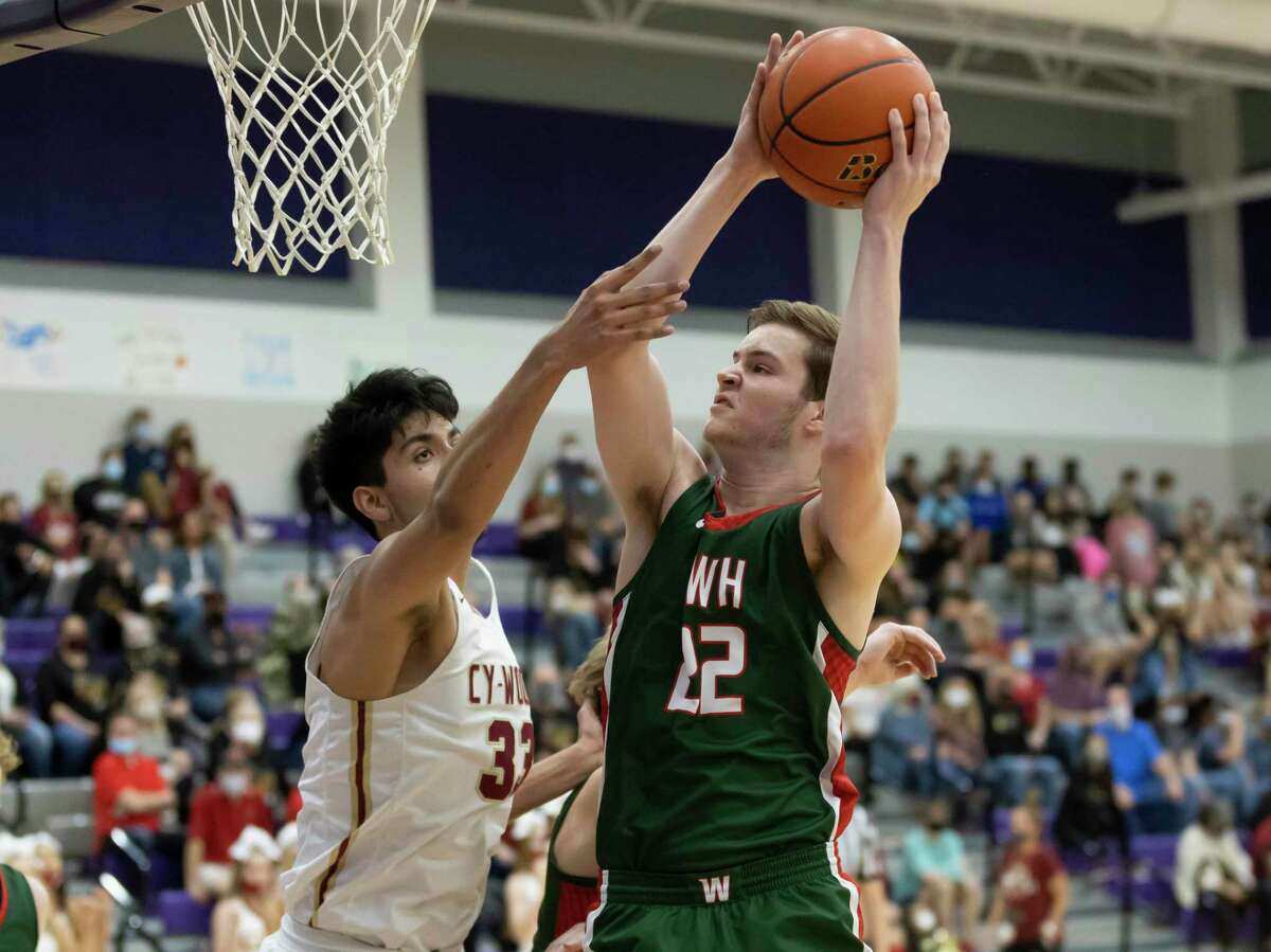 The Woodlands forward Brock Luechtefeld (22) was named District 13-6A's Co-MVP.