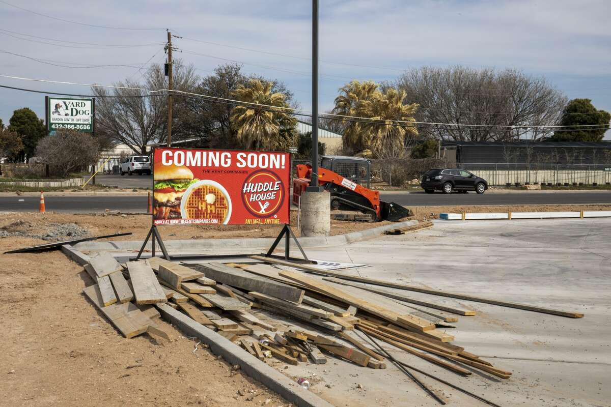 Huddle House is currently under construction as seen Monday, March 8, 2021 at 4250-B SE Loop 338 in Odessa. Jacy Lewis/ Reporter-Telegram