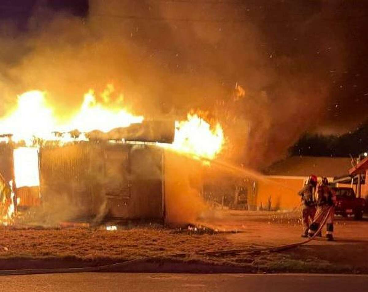 Laredo Fire Department crews extinguish a house fire reported early Saturday in the 1900 block of South Texas Avenue. The fire remains under investigation.