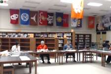 Orangefield ISD board of trustees held a meeting to discuss policy updates, including those to the districts mask policy on Monday, March 8, 2021.