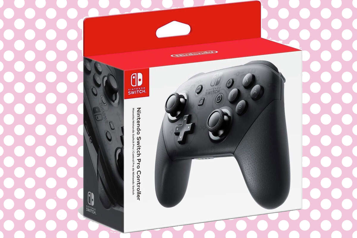 Nintendo Switch Pro Controller for $59.99 at Amazon.