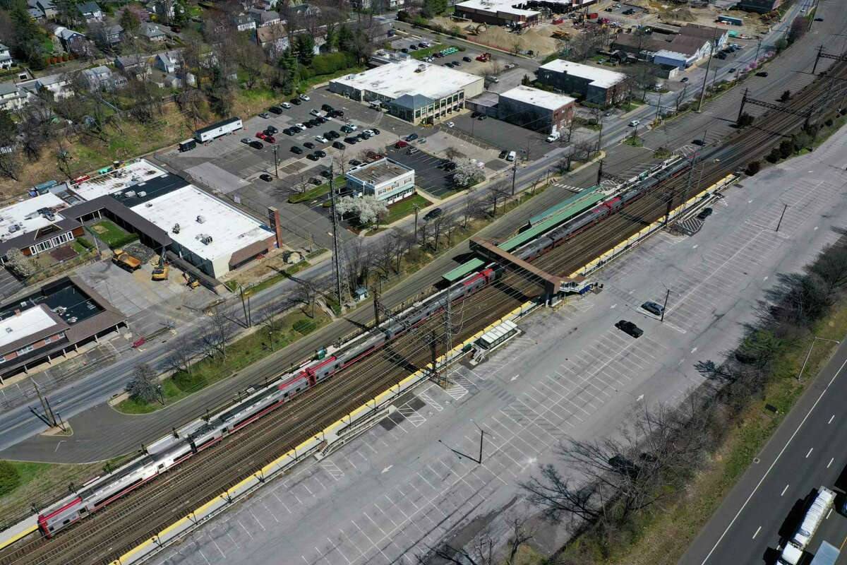New zoning laws proposed would increase state control over areas near transit, such as Noroton Heights train station Darien.