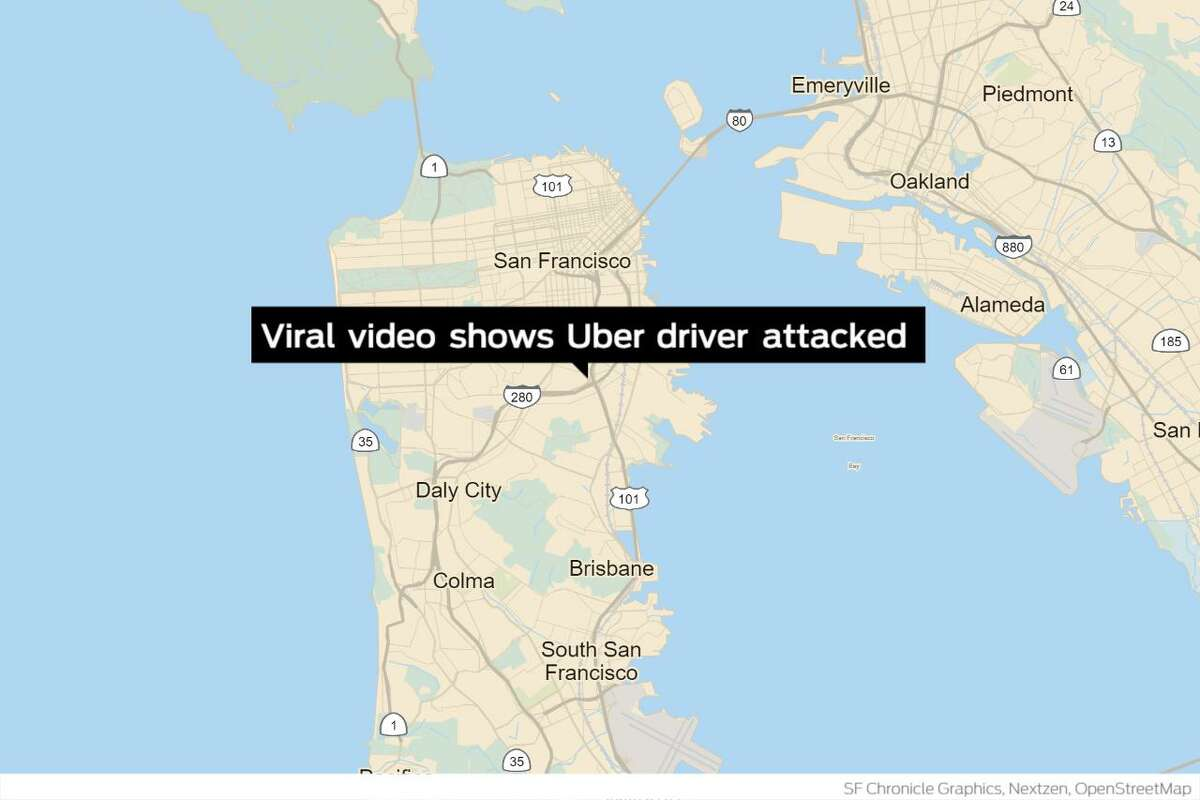 San Francisco police are investigating an incident captured in a now-viral video showing an Uber driver being assaulted after refusing three passengers service because one of the three was allegedly not wearing a mask. The driver picked up three women Sunday afternoon at San Bruno Avenue and Felton Street near San Francisco's Bayview neighborhood.