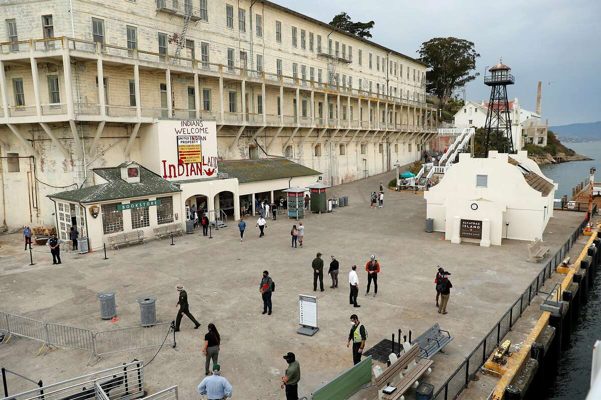 Tourist visits to Alcatraz Island in San Francisco Bay, which had boats limited to 150 passengers in August, will reopen on Monday.
