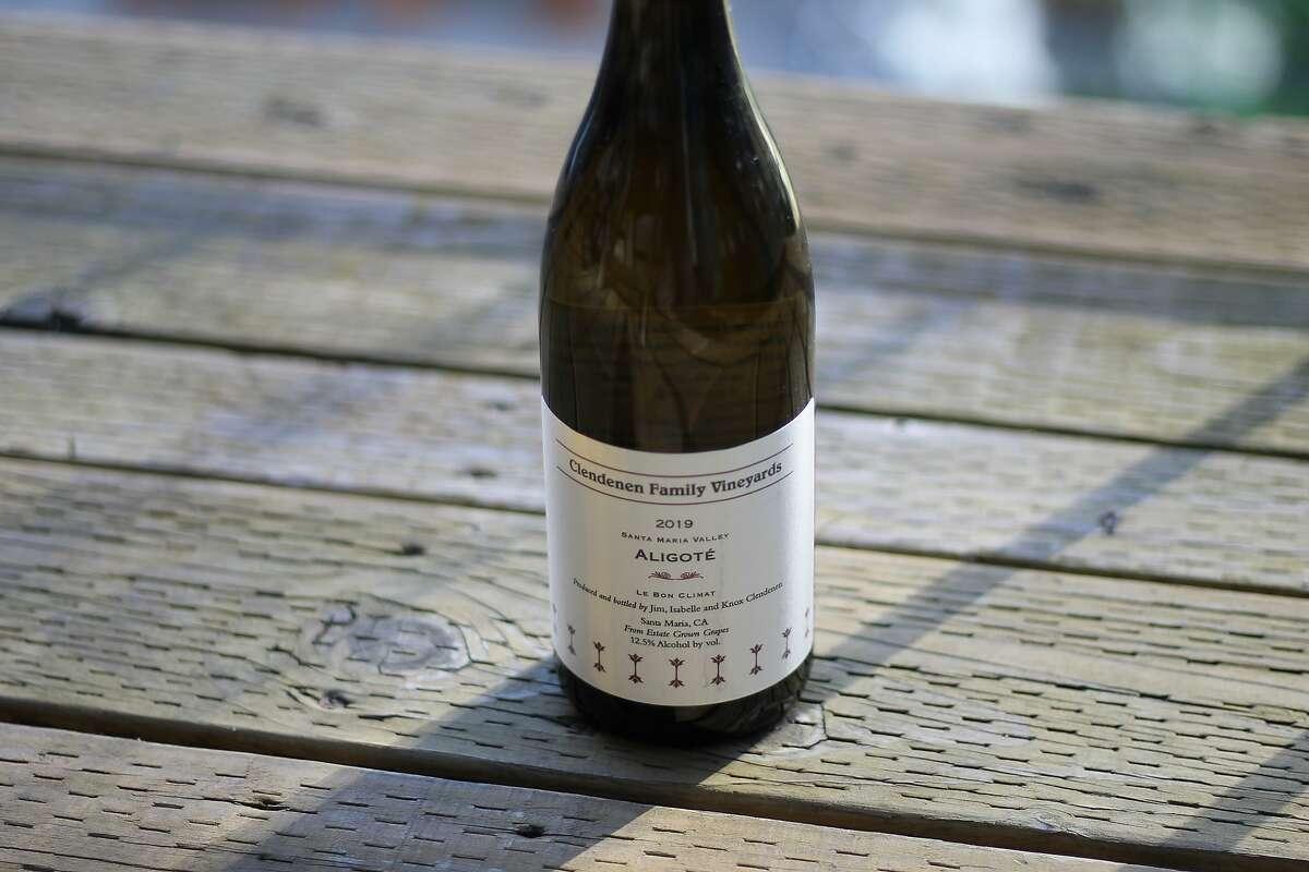 The Clendenen Family Vineyards Aligote from Le Bon Climat Vineyard in Santa Maria.