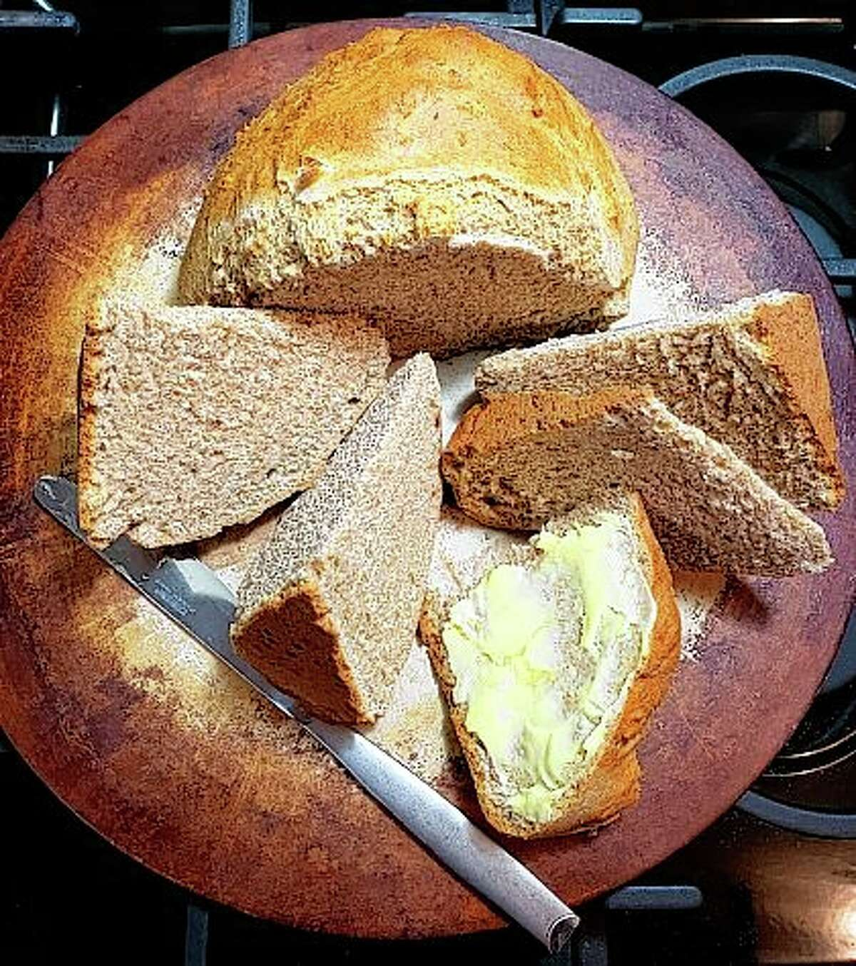 Irish soda bread is dense but flavorful, well-suited as an accompaniment for a hearty Irish stew or on its own with a slather of butter.