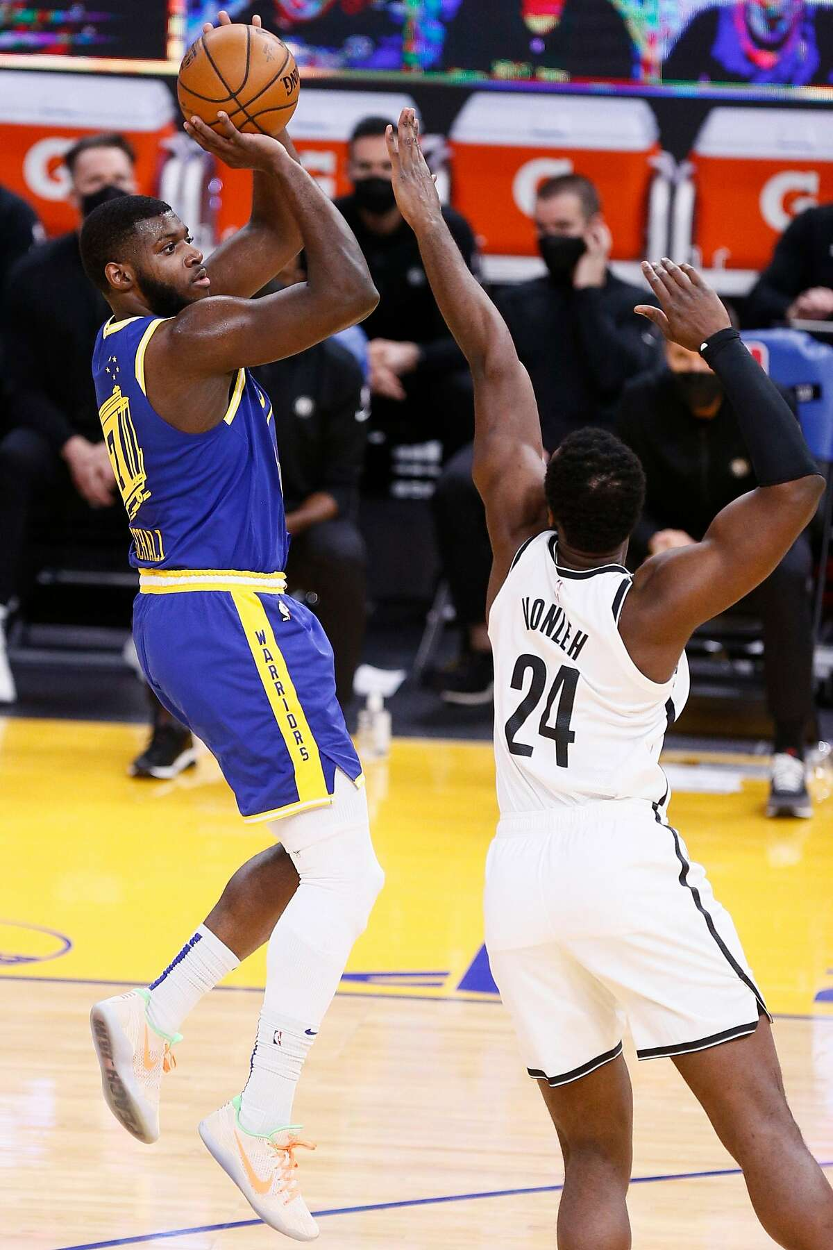 The Warriors need Eric Paschall to succeed as a second-unit power forward.