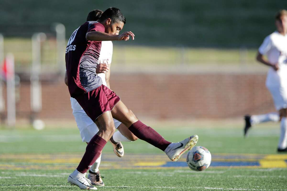 TAMIU's Johan Portales scored his second goal of the season Tuesday putting the Dustdevils ahead early in the second half of a 3-1 victory over Oklahoma Christian.
