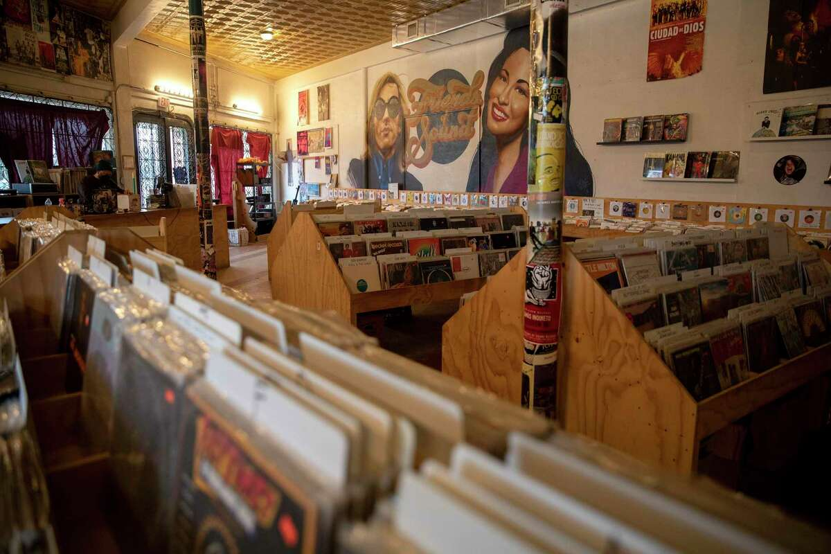 Friends of Sound, a record store on Fredericksburg Road, offers a variety of records in various genres of music. The store specializes in Tejano and World music, but has a wide variety of everything.