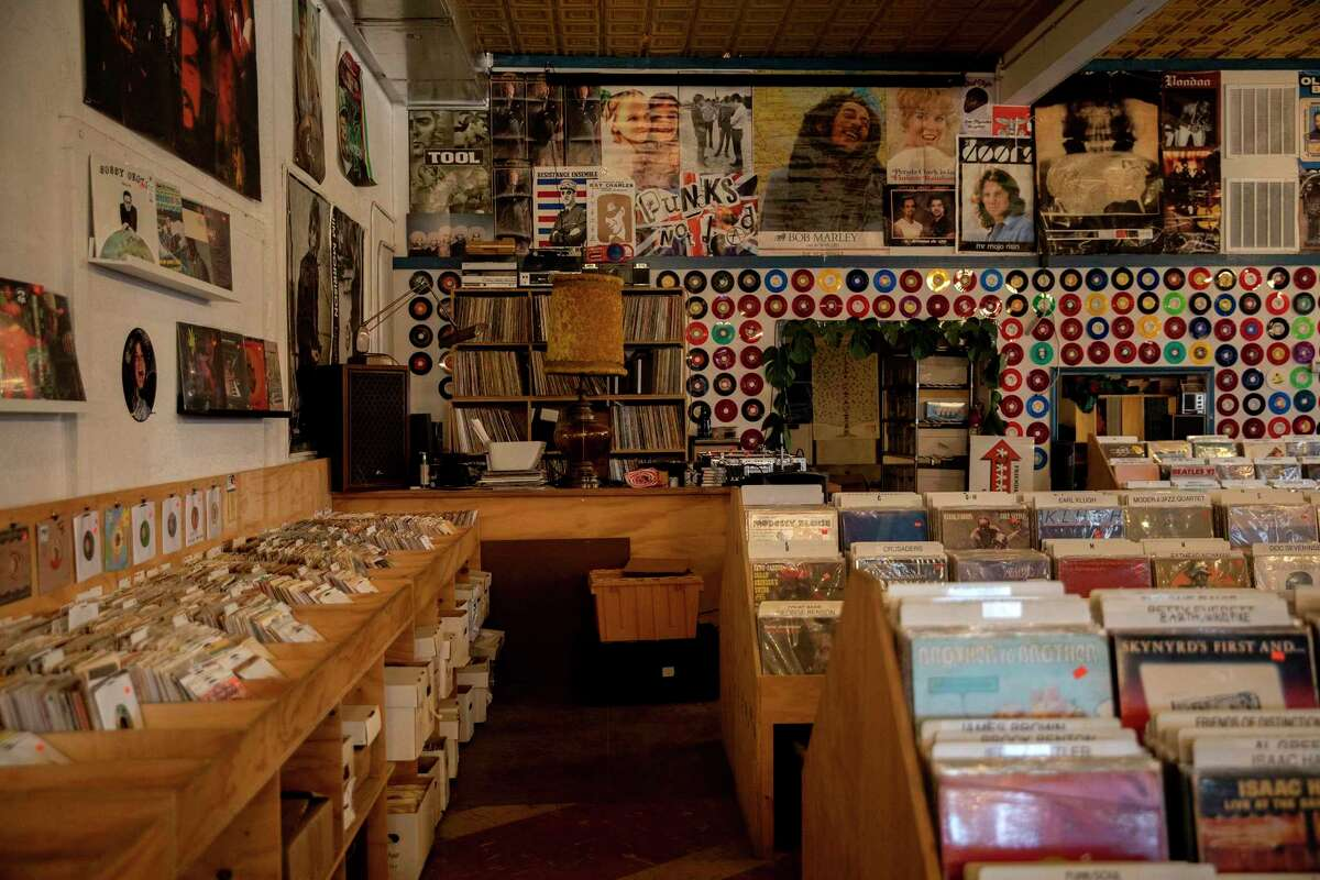 Friends of Sound on Fredericksburg Road offers records in a variety of genres. The store officially reopened in late February after a few lean months.