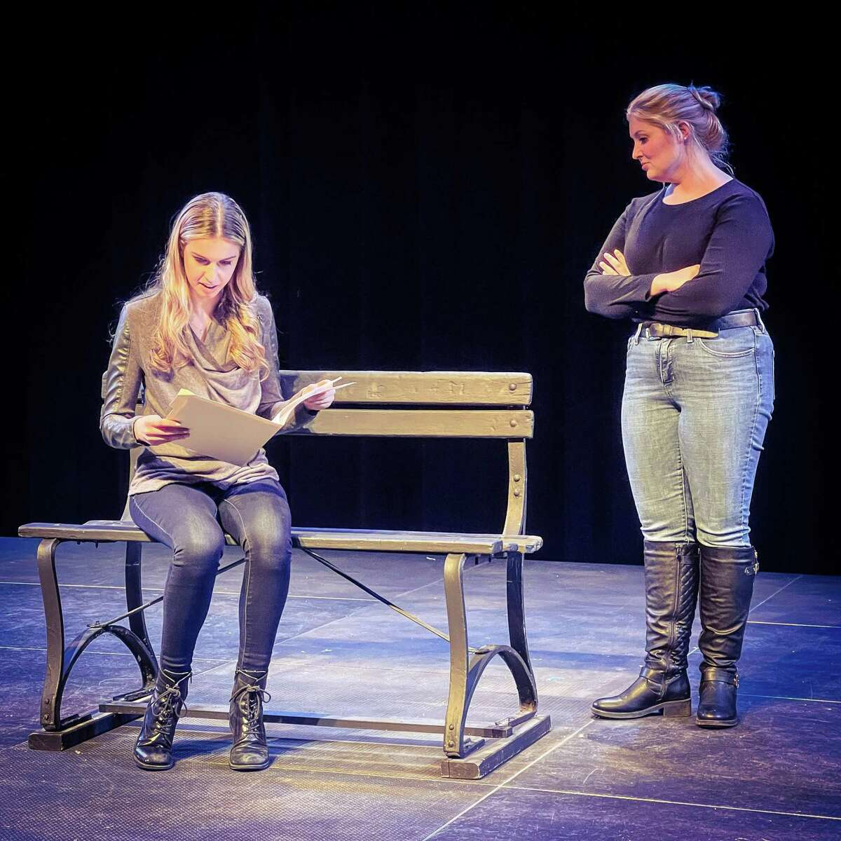 """The Warner Theatre's International Playwrighting Festival continues March 12 with """"Relativity and Me."""""""