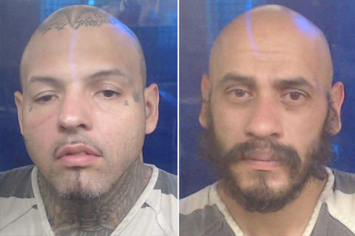 Two people associated with prison gangs have been arrested in connection with the seizure of more than 40 pounds of methamphetamine, according to Laredo police.