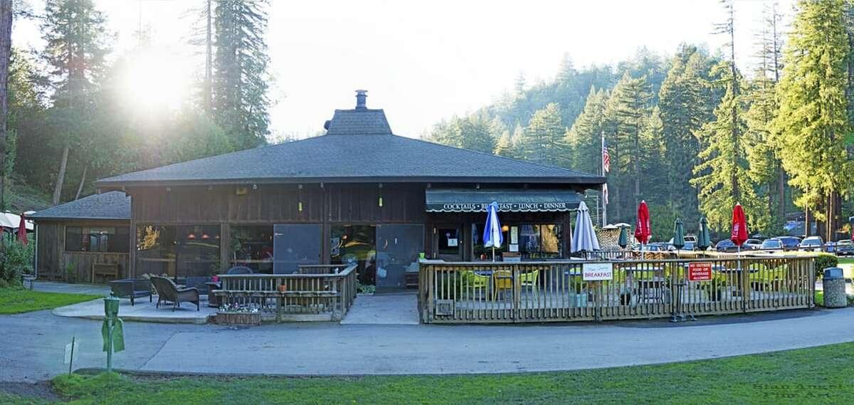 An exterior shot of Northwood Restaurant.
