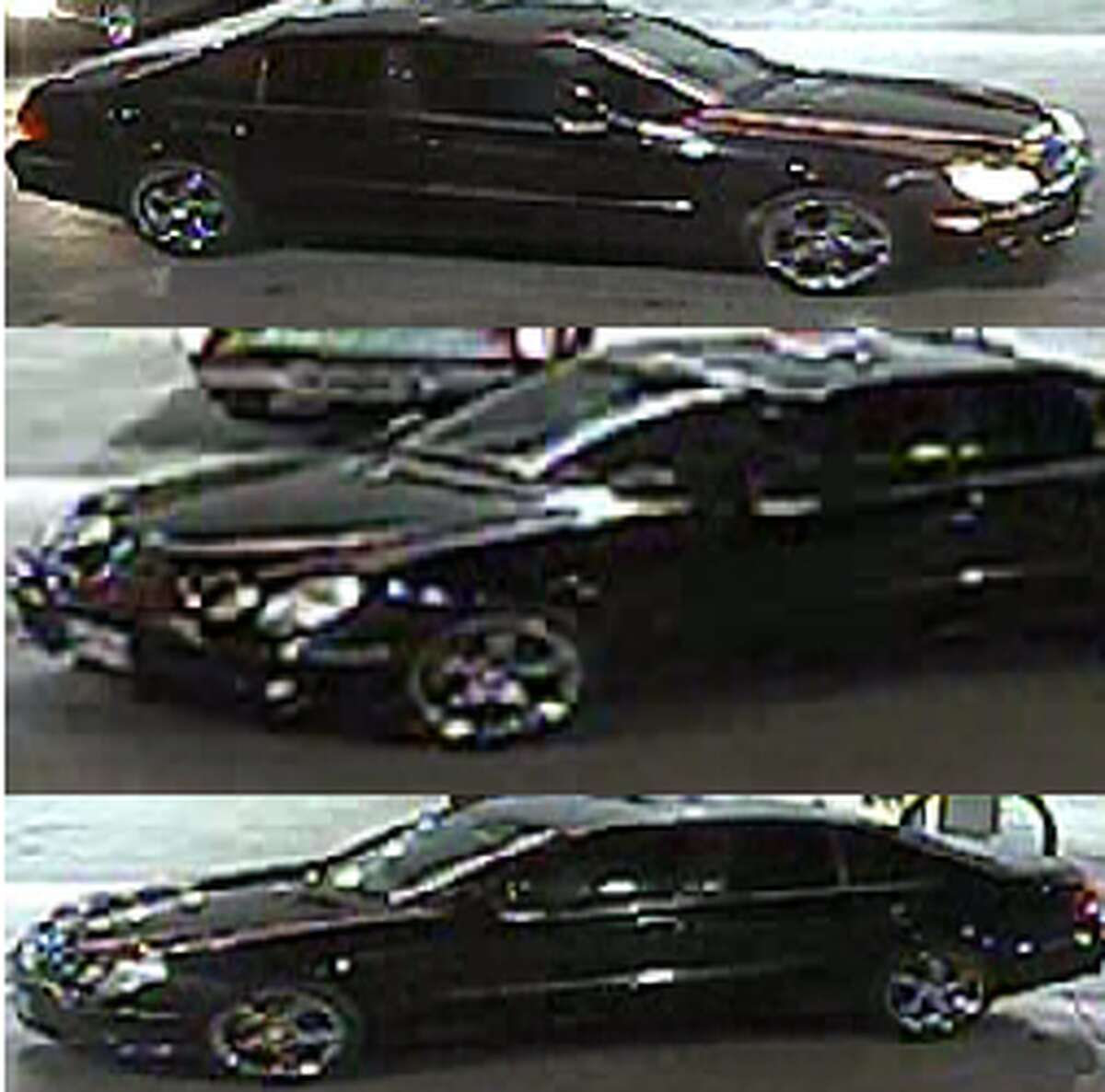 Police are searching for the driver of a dark colored car who they believe has information pertinent to a sexual assault investigation from December.