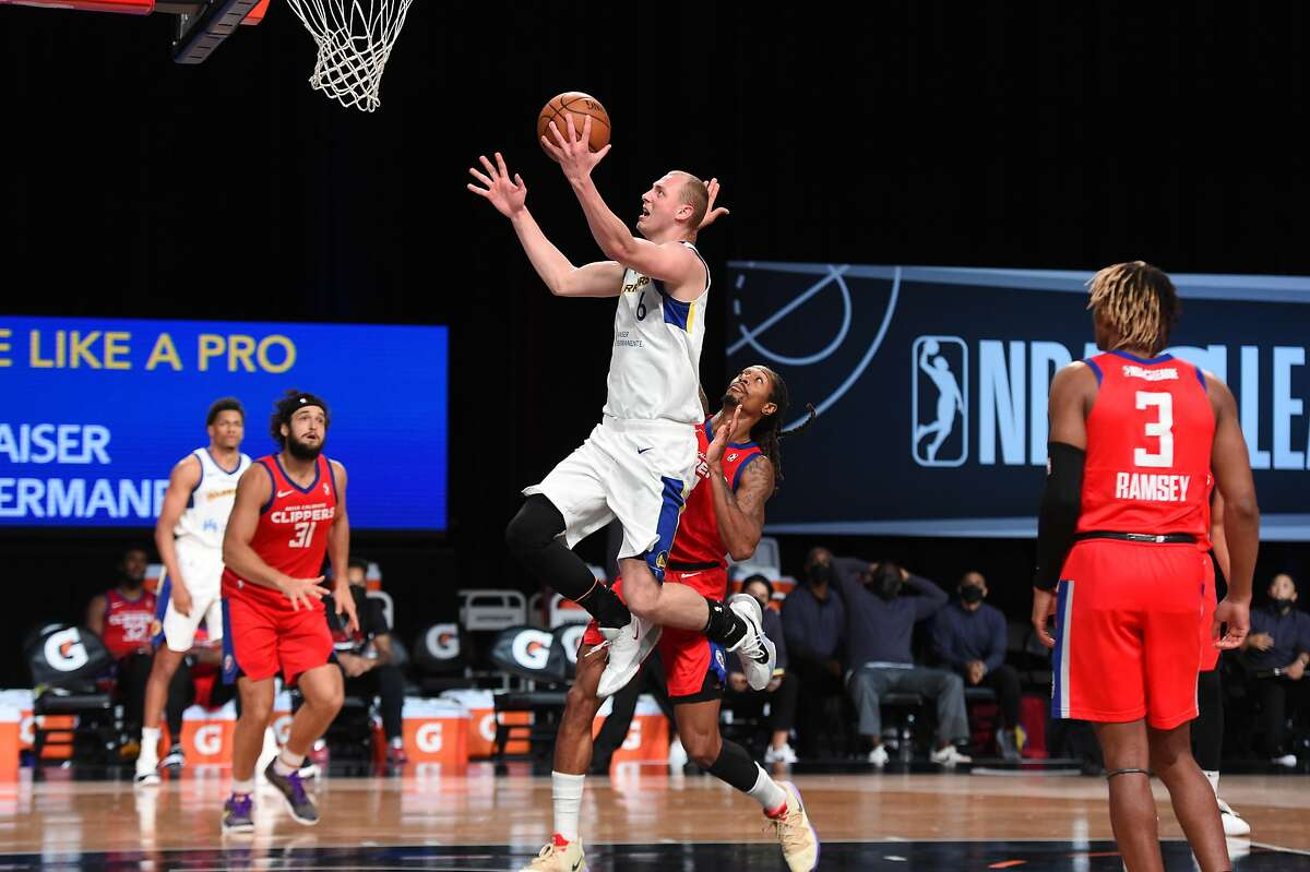 In the G League bubble, Santa Cruz Warriors forward Alen Smailagic showed he's far from contributing to Golden State.