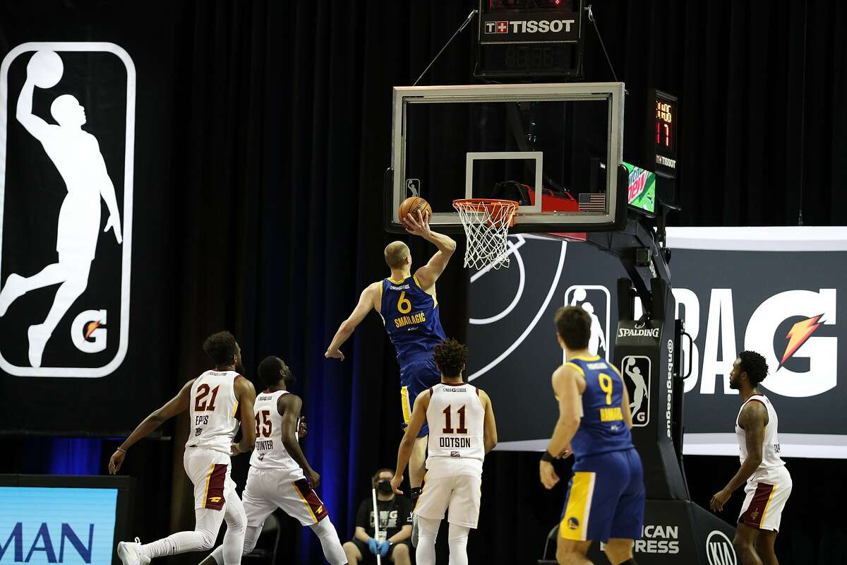 In 10 games at the G League bubble near Orlando, Santa Cruz Warriors forward Alen Smailagic - on assignment from Golden State - averaged 7.5 points on 52.5% shooting (15% from 3-point range), 4.3 rebounds and 1.5 assists in 17 minutes.