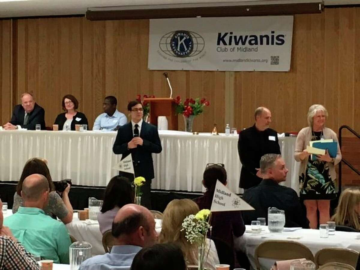 The Midland Kiwanis Club hosts annual Scholarship Honors Banquets to honor high school students' academic achievements. (Photo provided)