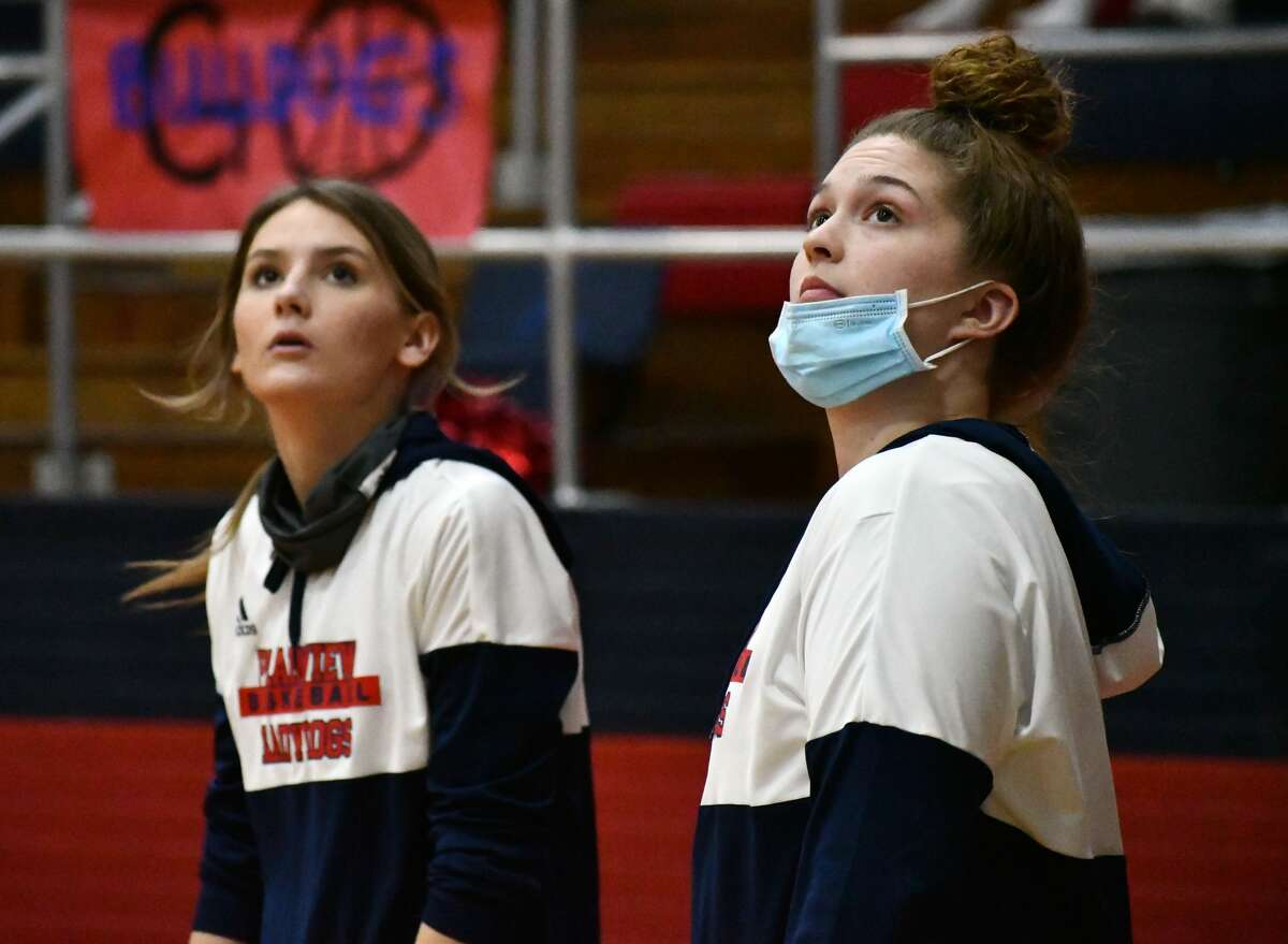 Plainview's Kylie Bennett (right) and Katy Long were each named TABC All-Region selections out of Class 5A Region 1.