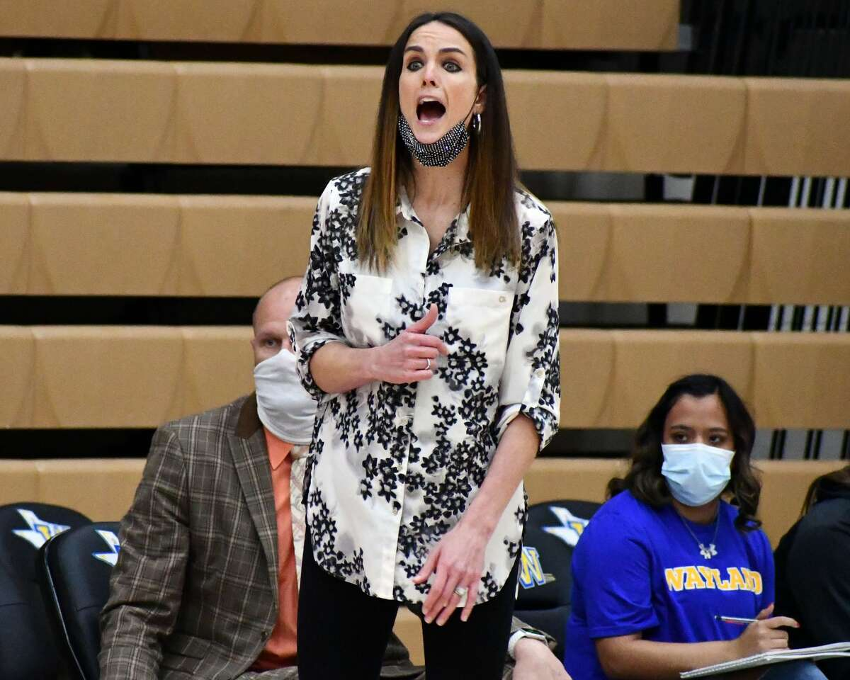 Head coach Alesha Ellis and the Wayland Baptist Flying Queens hope to redeem last year's canceled NAIA National Women's Basketball Tournament with a run to the championship this year.